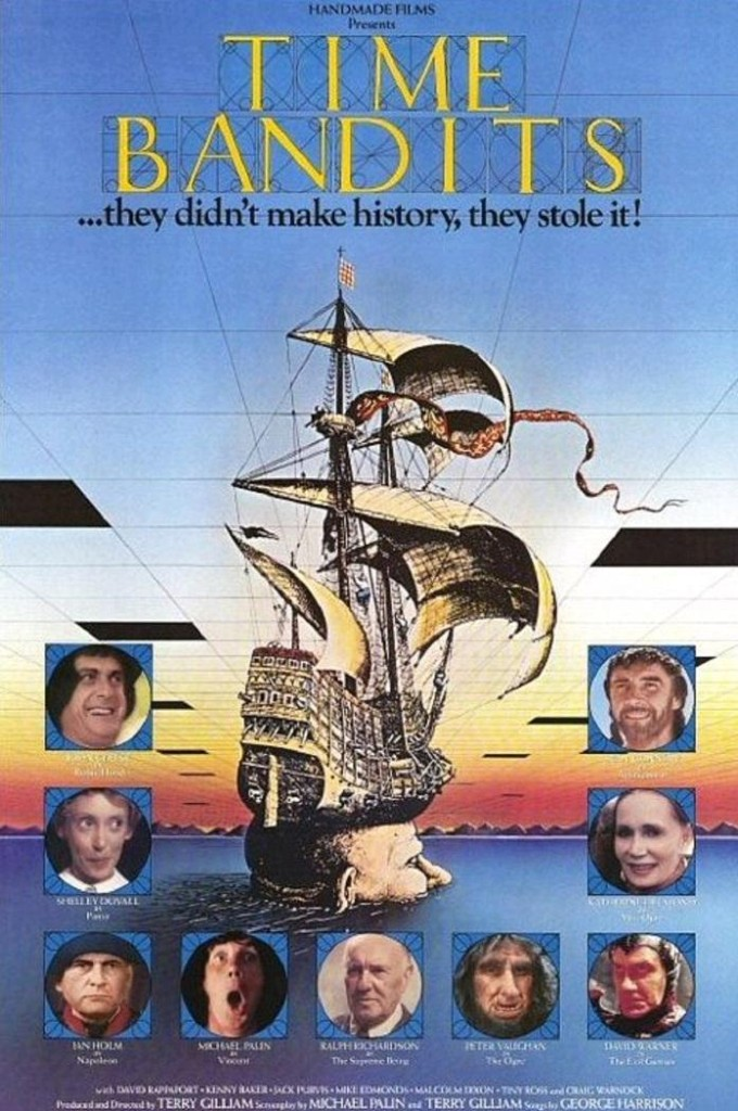 Бандиты во времени / Time Bandits (1981): постер