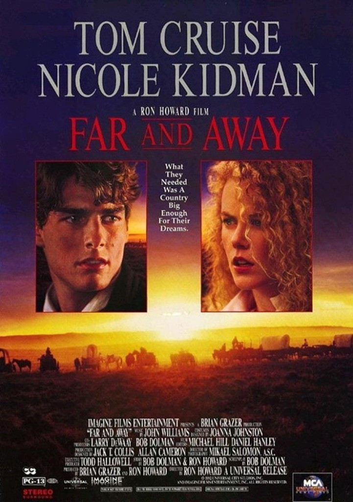 Далеко-далеко / Far and Away (1992): постер