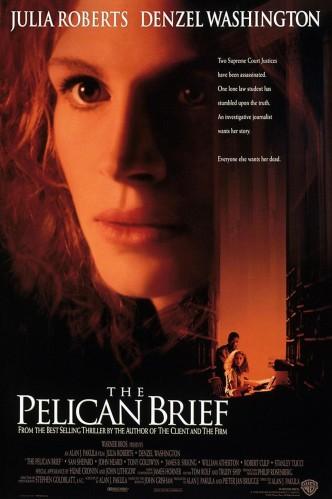 Дело о пеликанах / The Pelican Brief (1993): постер