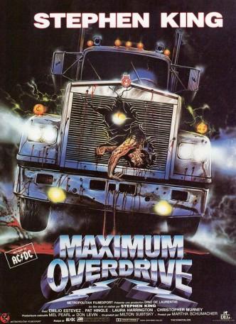 Максимальное ускорение / Maximum Overdrive (1986): постер
