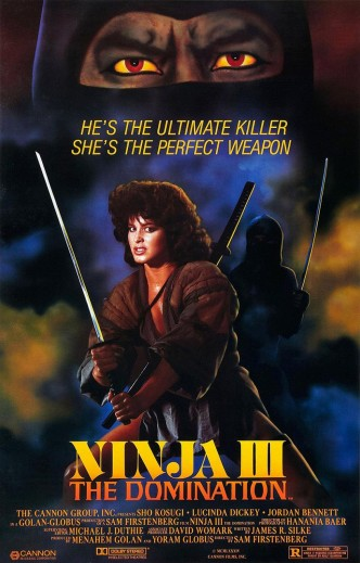 Ниндзя 3: Дух ниндзя / Ninja III: The Domination (1984): постер