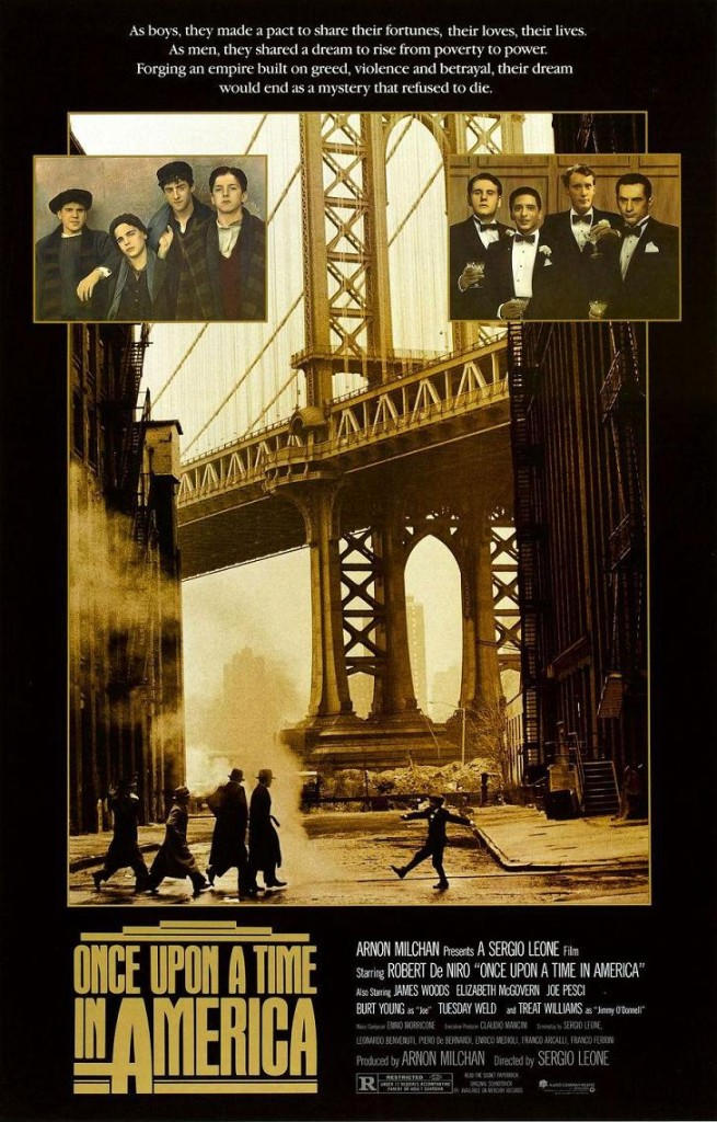 Однажды в Америке / Once Upon a Time in America / C'era una volta in America (1984): постер