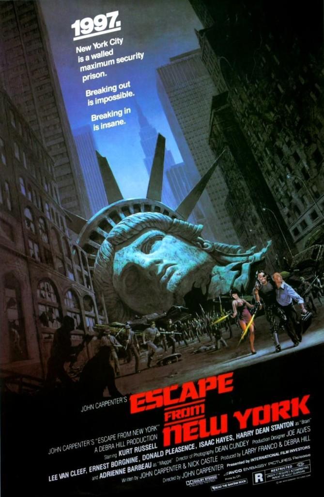 Побег из Нью-Йорка / Escape from New York (1981): постер