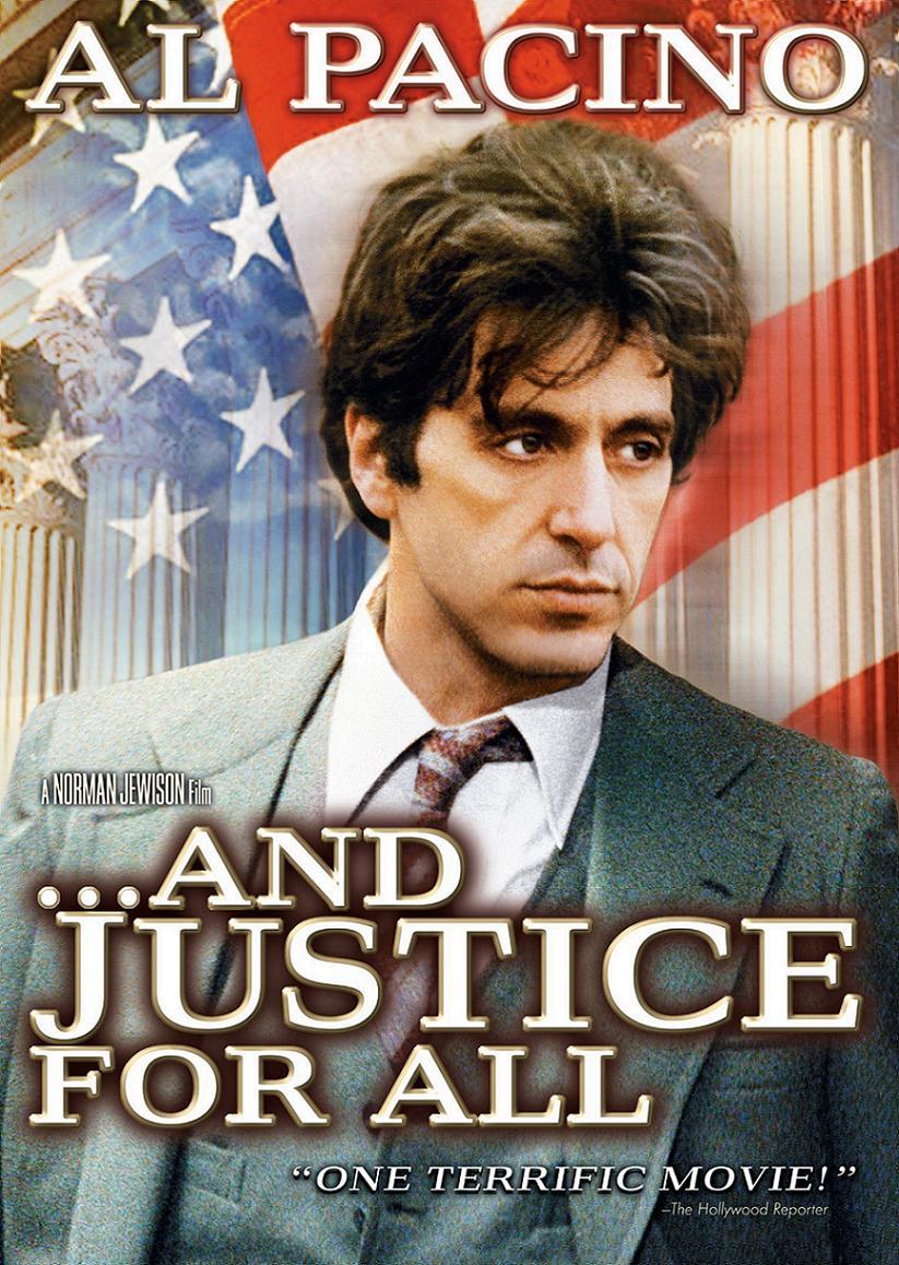 Правосудие для всех / ...and justice for all. (1979): постер