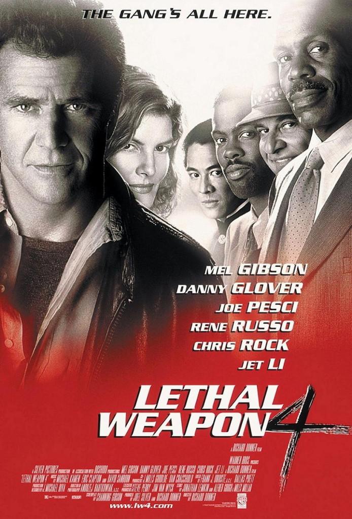 Смертельное оружие 4 / Lethal Weapon 4 (1998): постер