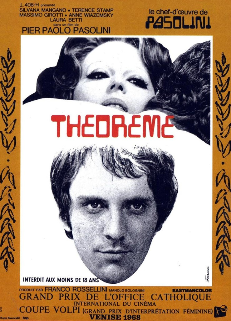 Теорема / Teorema (1968): постер