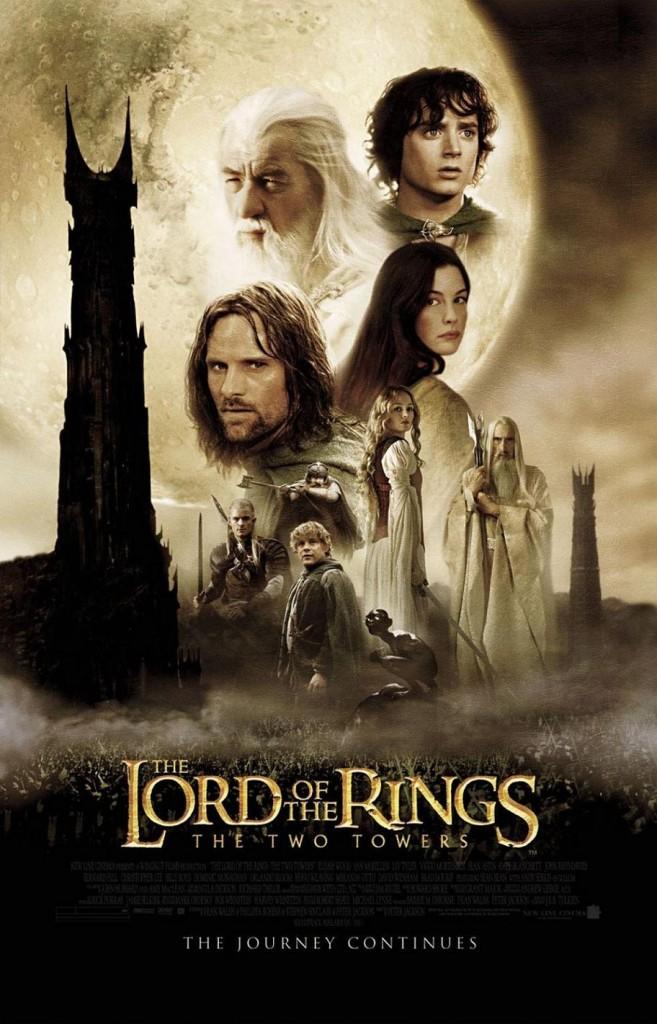 Властелин колец: Две крепости / The Lord of the Rings: The Two Towers (2002): постер