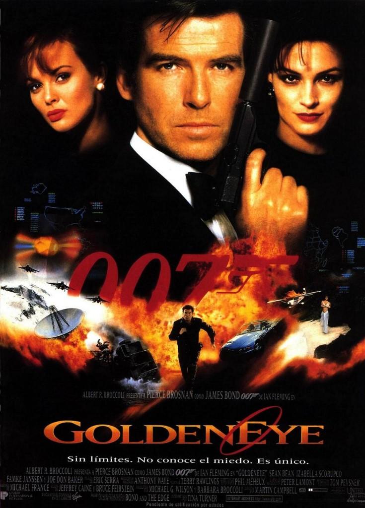 Золотой глаз / GoldenEye (1995): постер