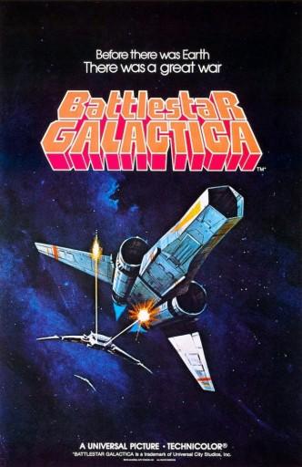 Звёздный крейсер «Галактика» / Battlestar Galactica (1978-1979) (телесериал): постер