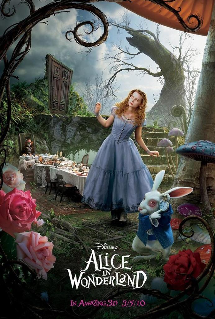 Алиса в Стране чудес / Alice in Wonderland (2010): постер