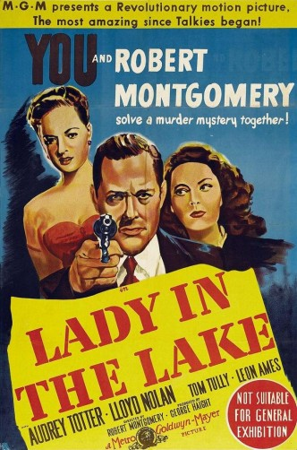 Леди в озере / Lady in the Lake (1947): постер