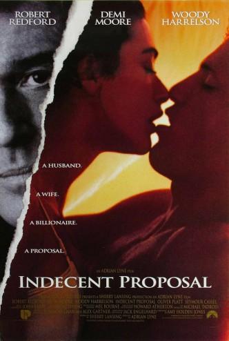 Непристойное предложение / Indecent Proposal (1993): постер