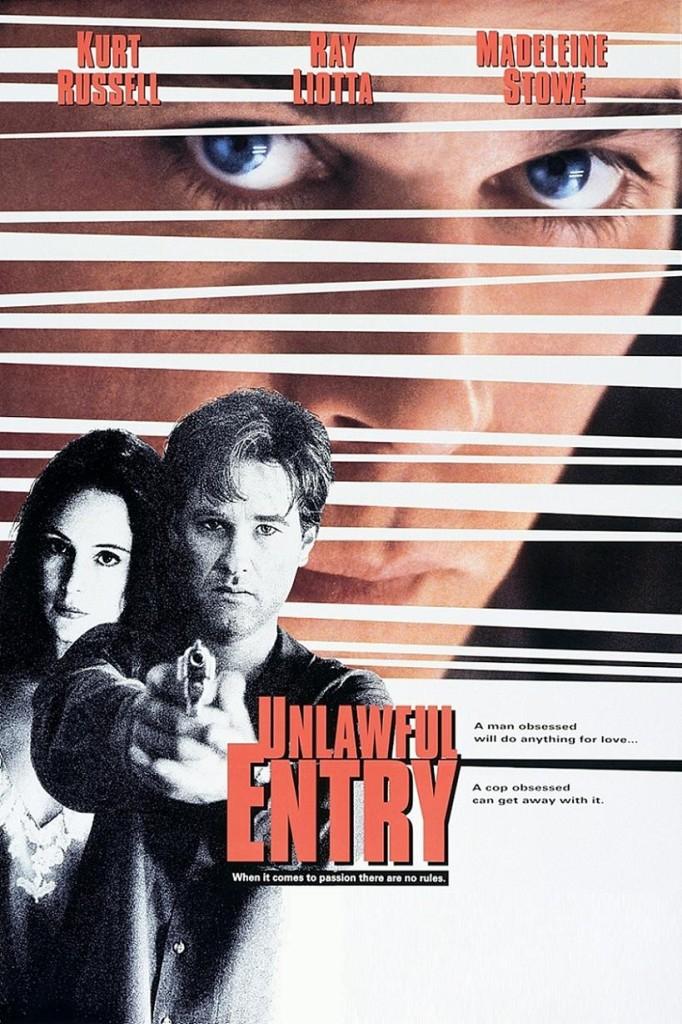 Незаконное проникновение / Unlawful Entry (1992): постер