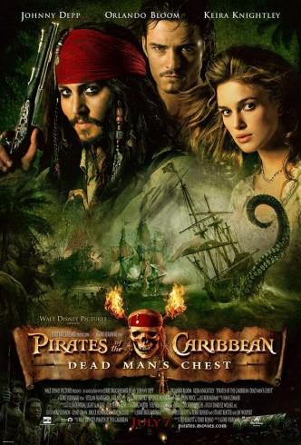Пираты Карибского моря: Сундук мертвеца / Pirates of the Caribbean: Dead Man's Chest (2006): постер