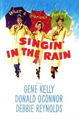 Поющие под дождём / Singin' in the Rain (1952): постер