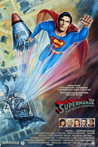 Супермен 4: Борьба за мир / Superman IV: The Quest for Peace (1987): постер