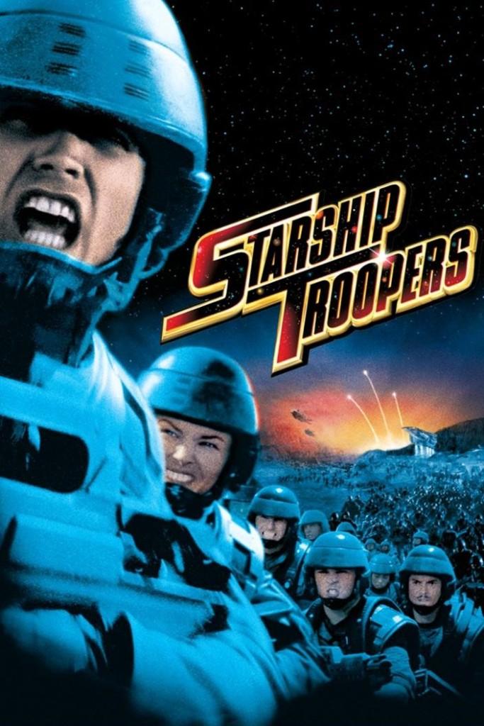 Звёздный десант / Starship Troopers (1997): постер
