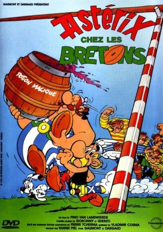 Астерикс в Британии / Astérix chez les Bretons (1986): постер
