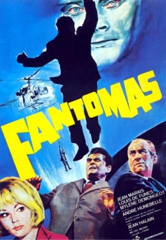 Фантомас / Fantômas (1964): постер