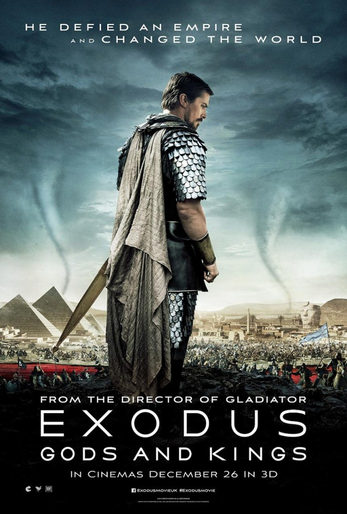 Исход: Цари и боги / Exodus: Gods and Kings / Exodus: Dioses y reyes (2014): постер