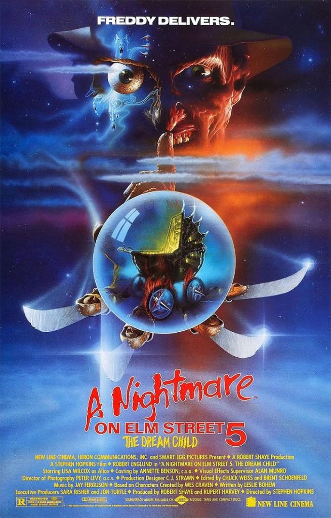 Кошмар на улице Вязов 5: Дитя сна / A Nightmare on Elm Street: The Dream Child (1989): постер
