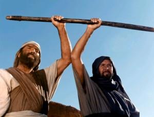Моисей / Moses the Lawgiver (1974): кадр из фильма