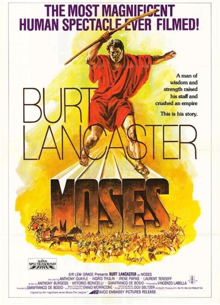 Моисей / Moses the Lawgiver (1974): постер
