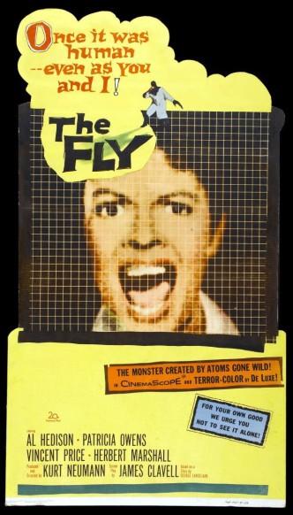 Муха / The Fly (1958): постер