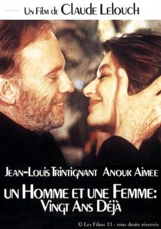 Мужчина и женщина: 20 лет спустя / Un homme et une femme, 20 ans déjà (1986): постер