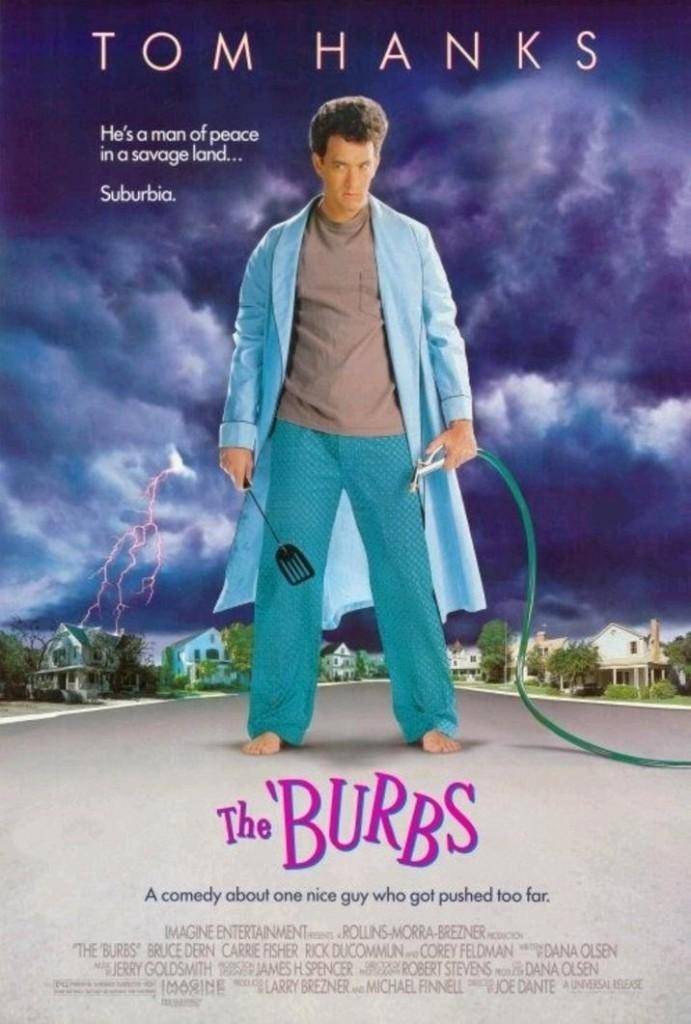 Предместье / The 'Burbs (1989): постер