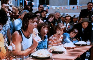 Сумасшедшие на стадионе / Les fous du stade (1972): кадр из фильма