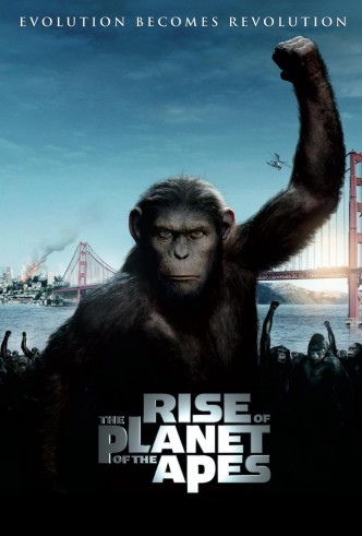 Восстание планеты обезьян / Rise of the Planet of the Apes (2011): постер