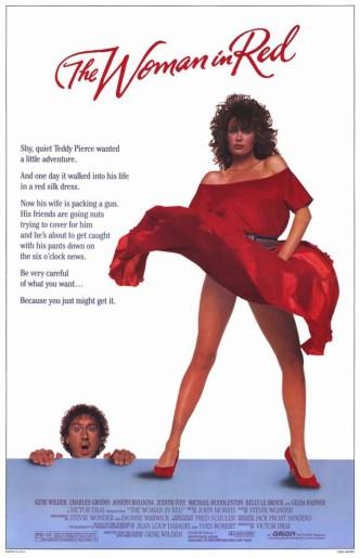 Женщина в красном / The Woman in Red (1984): постер