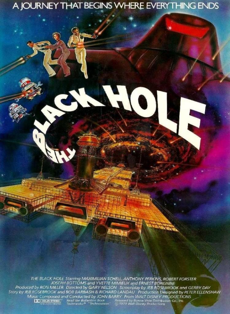 Чёрная дыра / The Black Hole (1979): постер