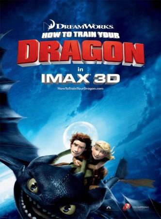 Как приручить дракона / How to Train Your Dragon (2010): постер