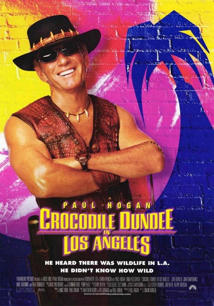 Крокодил Данди в Лос-Анджелесе / Crocodile Dundee in Los Angeles (2001): постер
