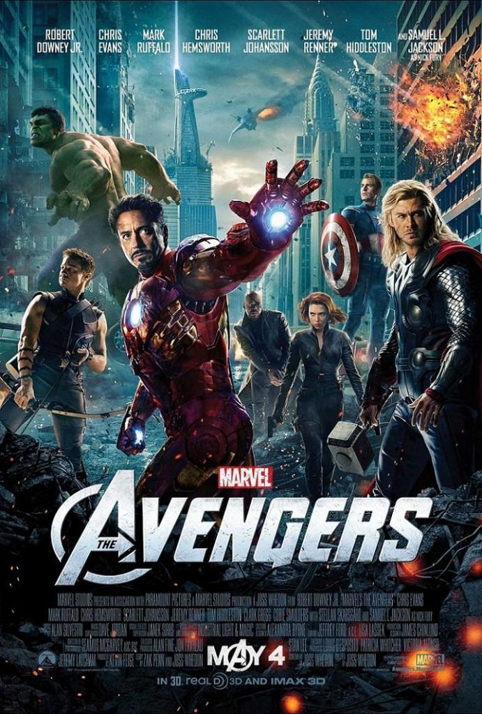 Мстители / The Avengers (2012): постер