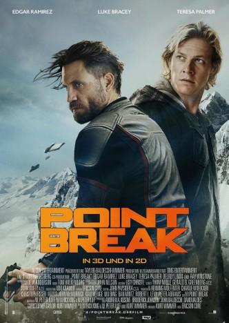 На гребне волны / Point Break (2015): постер