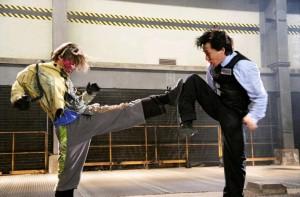 Новая полицейская история / San ging chat goo si / New Police Story (2004): кадр из фильма