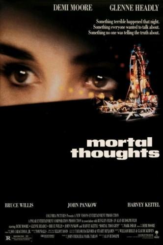 Смертельные мысли / Mortal Thoughts (1991): постер
