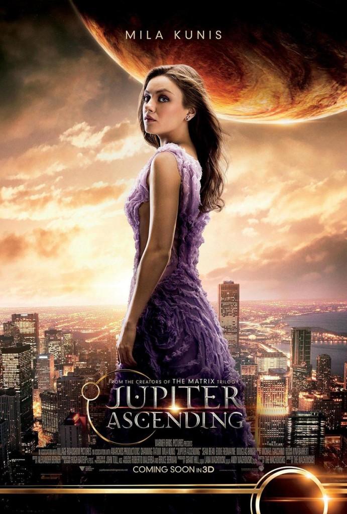 Восхождение Юпитер / Jupiter Ascending (2015): постер