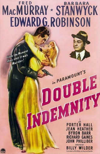 Двойная страховка / Double Indemnity (1944): постер