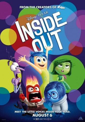 Головоломка / Inside Out (2015): постер