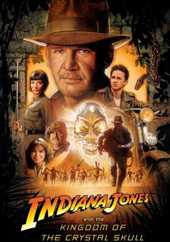 Индиана Джонс и Королевство хрустального черепа / Indiana Jones and the Kingdom of the Crystal Skull (2008): постер