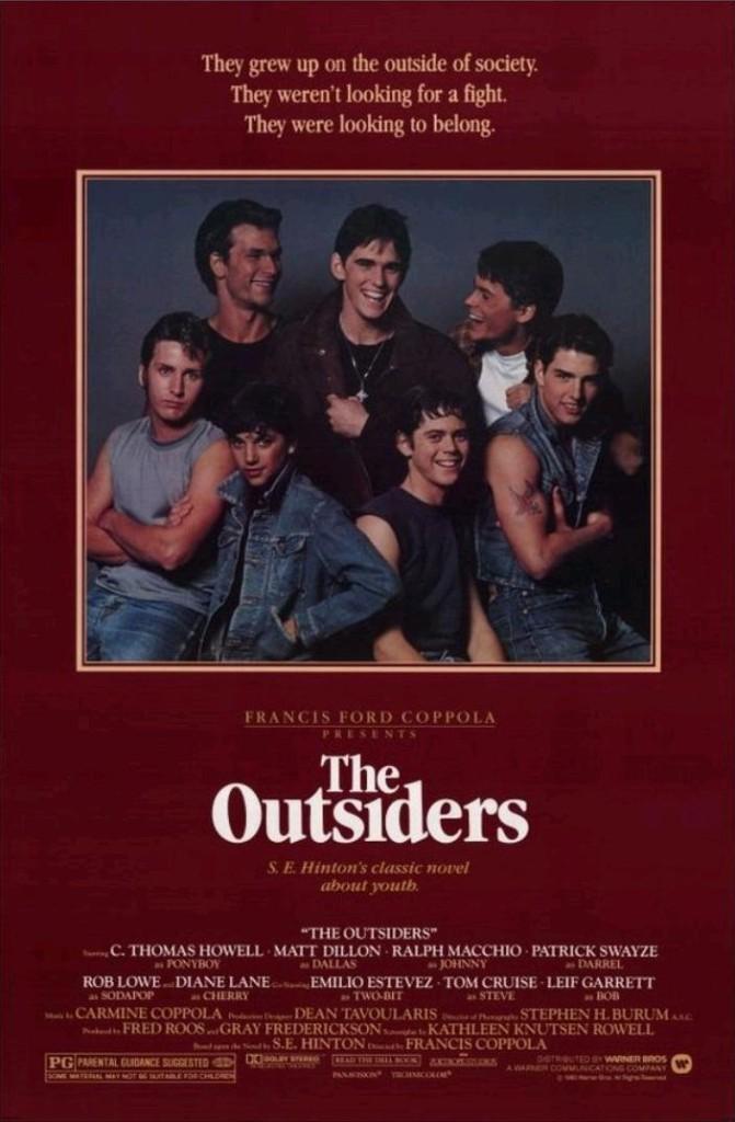 Изгои / The Outsiders (1983): постер