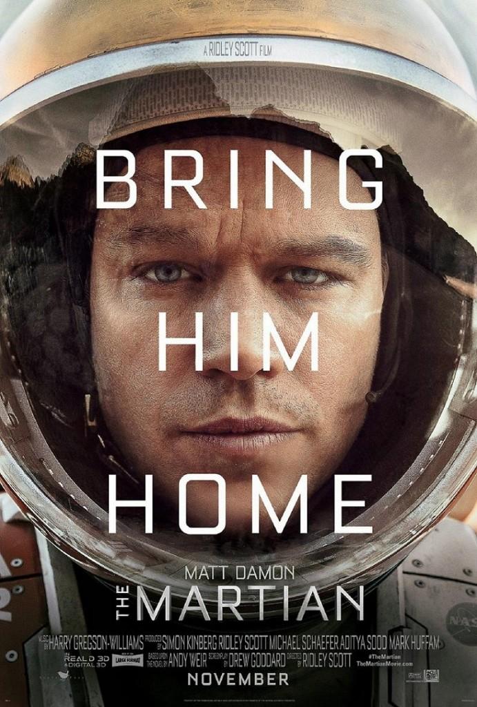 Марсианин / The Martian (2015): постер