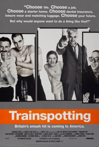 На игле / Trainspotting (1996): постер