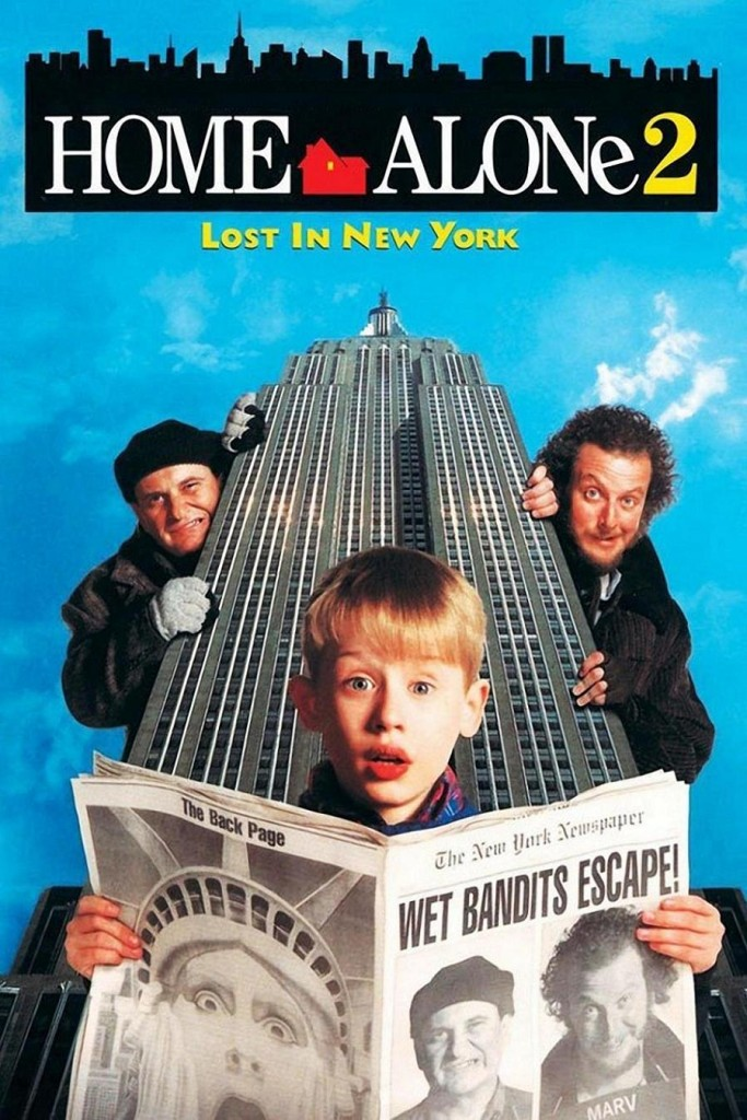 Один дома 2: Потерянный в Нью-Йорке / Home Alone 2: Lost in New York (1992): постер