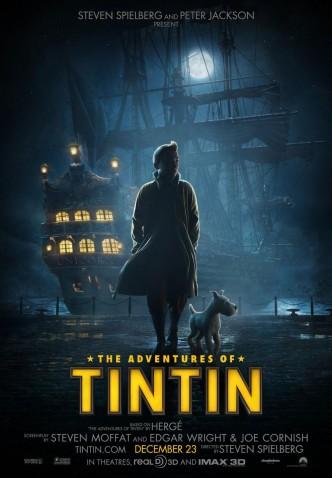 Приключения Тинтина: Тайна «Единорога» / The Adventures of Tintin (2011): постер
