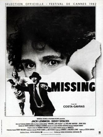 Пропавший без вести / Missing (1982): постер